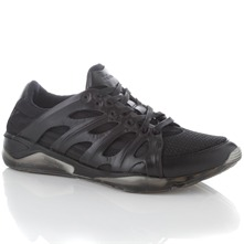 Black Ribcage Trainers