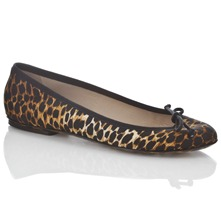 Leopard Healey Pumps