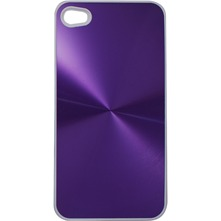 Cover in alluminio viola per iPhone 4 e 4S - viola