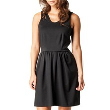 Black Cut Out Jersey Dress
