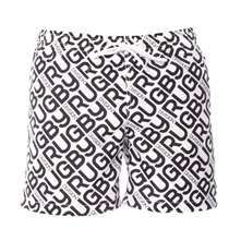 Short de bain logotyp noir