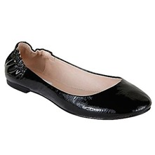 Black Cool Patent Leather Pumps