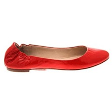 Red Kool Patent Leather Pumps