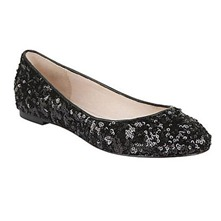 Black Kriss Sequin Pumps