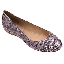 Pewter Kriss Sequin Pumps