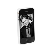 ABS - Carcasa para iPhone 4 - blanco