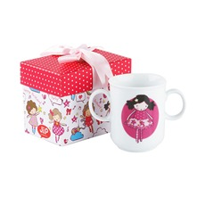 Mug Happy B-day Candy girls en paquet cadeau