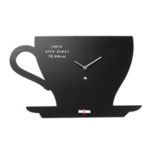 Horloge/ardoise Cup of Tea