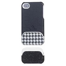 Coque duo pied de poule iPhone4/4S