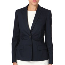 Navy Birch Fitted Jacket