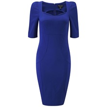Blue Cate Structured Dress
