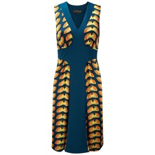 Navy Kew Butterfly Dress