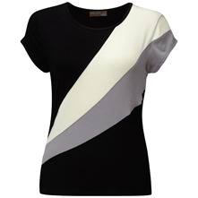Black Kite Stripe T-Shirt