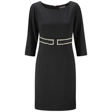 Black Salzburg Tailored Dress
