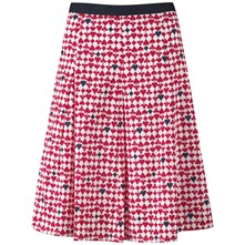 Red Queen Of Hearts Cotton Skirt