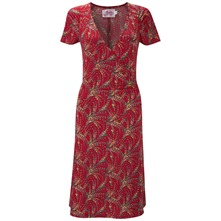 Red Renoir Side Detail Dress