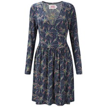 Navy Renoir Wrap Dress