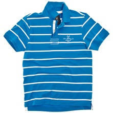 Blue/White Regatta Polo Shirt