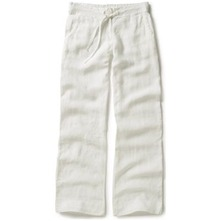 White Hanover Cotton Trousers