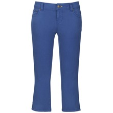 Blue Olney Cropped Trousers