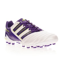 Baskets de footbal Absolado MG blanc et violet