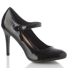 Women footwear: Black Alice Shoes 11cm Heel