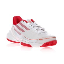Baskets Adizero blanc et rose
