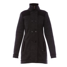 Manteau Anaheim gris fonc