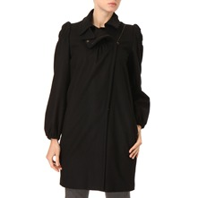 Black Side Zip Coat