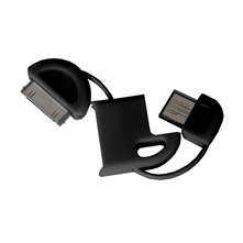 Porte-cls cble USB iPhone3/3GS USB iPhone3/3GS