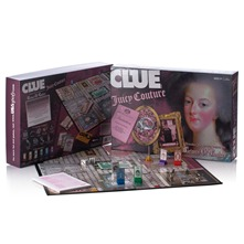 Multicolour Clue Crimes Game