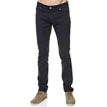Navy Soft Cotton Chinos 33