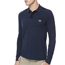 Blue Keath Rugby Polo Shirt