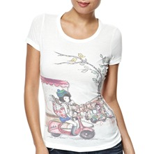 White Sofie T-Shirt