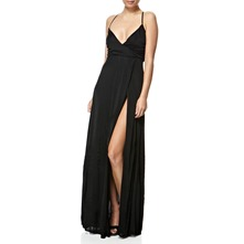 Black X-Lauryn Maxi Dress