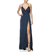Blue X-Lauryn Maxi Dress
