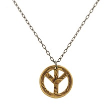 Collier Buck The World en acier