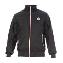 Veste coupe-vent zippée anthracite
