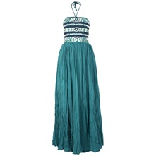Turquoise Azore Summer Maxi Dress