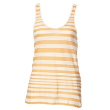 Peach Caprina Stripe Vest Top