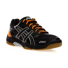 Baskets Gel Squad noir et orange