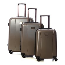 Set de 3 valises Easy 50/60/70cm taupe