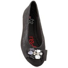 Black Dita Embellished Pumps