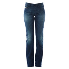 Jean Bootzee 0660D regular slim bleu