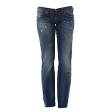 Jeans Lowky 0885M slim destroy bleu dirty