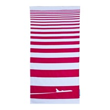 Drap de plage New York rose