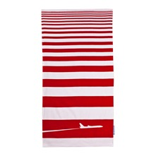 Drap de plage New York rouge