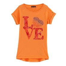 T-shirt Ruby orange