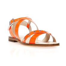 Sandales Cathie orange