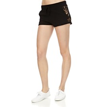 Black Animal Insert Shorts